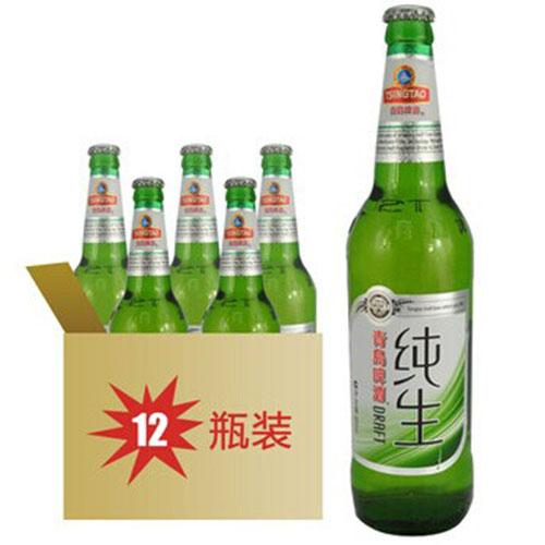 青岛纯生啤酒500ml整箱