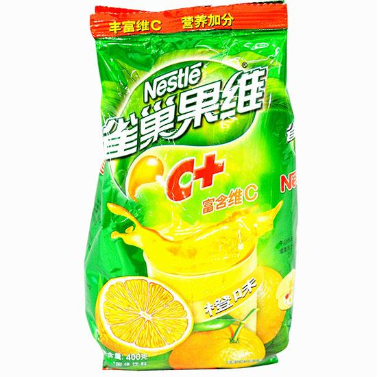 雀巢果维c 橙味饮料400g
